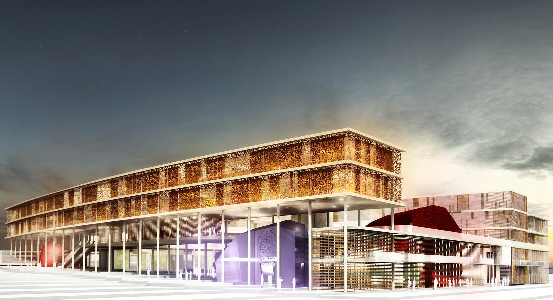 קיסלוב קיי אדריכלים- בית עיריית אילת