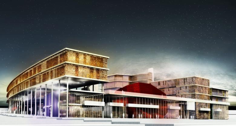 קיסלוב קיי אדריכלים, מבנה עיריית אילת