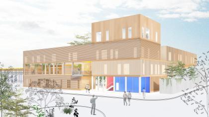 קיסלוב קיי אדריכלים, בית ספר לאוטיסטים
