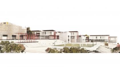 קיסלוב קיי אדריכלים, תיכון באר שבע