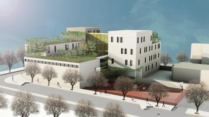 קיסלוב קיי אדריכלים- בית ספר דרכים חולון