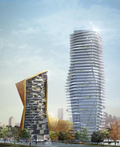 קיסלוב קיי אדריכלים, מגדל צ'נגצ'ון