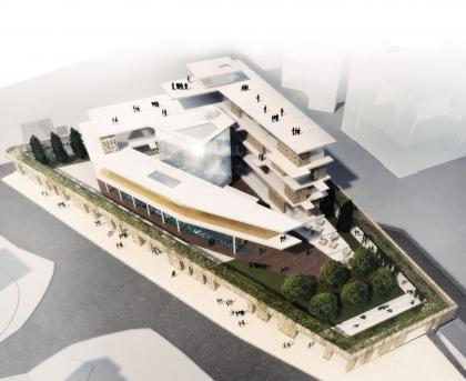 קיסלוב קיי אדריכלים, בית הקרן לידידות